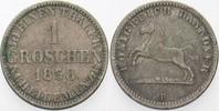1 Groschen 1858 B Hannover Georg V. 1851-1866. Sehr schön  5,00 EUR  zzgl. 3,00 EUR Versand