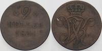 2 Heller 1831 Hessen-Kassel Wilhelm II. 1821-1847, seit 1831 Mitregents... 10,00 EUR  zzgl. 3,00 EUR Versand