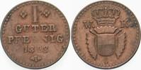 1 Guter Pfennig 1828 Hessen-Kassel Wilhelm II. 1821-1847 Sehr schön  10,00 EUR  plus 5,00 EUR verzending