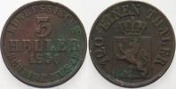3 Heller 1856 Hessen-Kassel Friedrich Wilhelm I. 1847-1866. Belag, fast... 3,00 EUR  zzgl. 3,00 EUR Versand