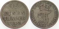 1/48 Taler 1848 Mecklenburg-Schwerin Friedrich Franz II. 1842-1883. Seh... 9,00 EUR  zzgl. 3,00 EUR Versand