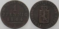 1 Pfennig 1844 A Reuss-jüngere Linie zu Lobenstein-Ebersdorf Heinrich L... 20,00 EUR  zzgl. 3,00 EUR Versand