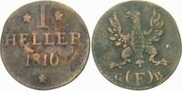 1 Heller 1816 Frankfurt  Sehr schön  8,00 EUR  zzgl. 3,00 EUR Versand