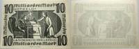 Das Papiernotgeld von Westfalen 10 Milliarden Mark LANDKREIS BIELEFELD