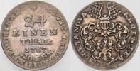 1/24 Taler 1767 Mühlhausen - Stadt  Fast vorzüglich  45,00 EUR  zzgl. 5,00 EUR Versand