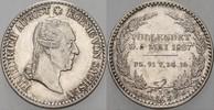 1/6 Taler 1827 Sachsen Friedrich August I. 1806-1827 Vorzüglich  35,00 EUR  zzgl. 5,00 EUR Versand