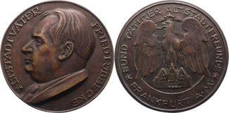 Bronzegussmedaille 1959 Frankfurt-Stadt  G...