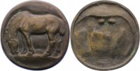 Bronzegussmedaille 1917 Kunstmedaillen ohne Signatur Vorzüglich  250,00 EUR