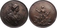 Bronzegussmedaille 1723 Musiker Bordoni, F...