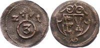 Kipper Cu 3 Pfennig 1621 Quedlinburg, Abtei Dorothea Sophie von Sachsen... 175,00 EUR  zzgl. 5,00 EUR Versand