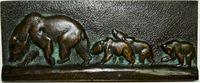 Einseitige Bronzegussplakette  Kunstmedaillen Schäfer Hängevorrichtung.... 95,00 EUR  +  7,00 EUR shipping