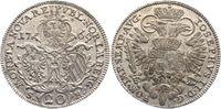 Nürnberg-Stadt 20 Kreuzer 1769 Vorzüglich  135,00 EUR  zzgl. 5,00 EUR Versand