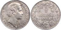 Bayern 1/2 Gulden 1870 Vorzüglich Ludwig II. 1864-1886. 115,00 EUR  zzgl. 5,00 EUR Versand