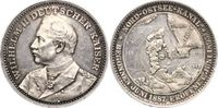 Schleswig-Nord-Ostsee-Kanal Talerförmige Silbermedaille 1 1895 Winz. Kra... 95,00 EUR  zzgl. 5,00 EUR Versand