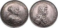Silbermedaille 1687 Sachsen-Albertinische Linie Magdalena Sybilla von B... 550,00 EUR kostenloser Versand