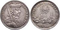 Silberabschlag von den Stempeln des Dopp 1709 Sachsen-Albertinische Lin... 995,00 EUR kostenloser Versand