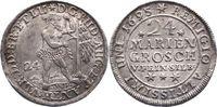 24 Mariengroschen 1695 Braunschweig-Wolfenbüttel Rudolf August und Anto... 245,00 EUR  zzgl. 5,00 EUR Versand