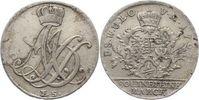 1/6 Taler 1764  FS Sachsen-Weimar-Eisenach Anna Amalia 1758-1775. Sehr ... 50,00 EUR  zzgl. 5,00 EUR Versand