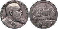 Silbermedaille 1914 Isenburg-Büdingen Wolfgang. Mattiert. Winz. Randfeh... 135,00 EUR  zzgl. 5,00 EUR Versand
