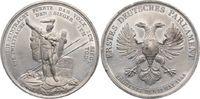Zinnmedaille 1848 Frankfurt-Stadt  Winz. Kratzer, vorzüglich +  95,00 EUR  zzgl. 5,00 EUR Versand