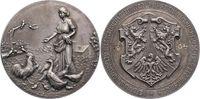 Silbermedaille  Hessen-Wiesbaden, Stadt  Mattiert. Winz. Randfehler, pr... 165,00 EUR  zzgl. 5,00 EUR Versand