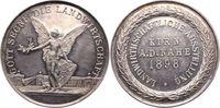 Silbermedaille 1898 Kirn/Nahe-Stadt  Winz. Kratzer, vorzüglich +  175,00 EUR  zzgl. 5,00 EUR Versand