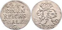 1/24 Taler 1753  G Brandenburg-Preußen Friedrich II. 1740-1786. Fast vo... 100,00 EUR  zzgl. 5,00 EUR Versand