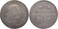 8 Gute Groschen 1758  B Anhalt-Bernburg Victor Friedrich 1721-1765. Prä... 70,00 EUR  zzgl. 5,00 EUR Versand