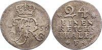1/24 Taler 1756  F Brandenburg-Preußen Friedrich II. 1740-1786. Sehr sc... 60,00 EUR  zzgl. 5,00 EUR Versand