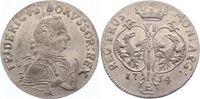 6 Gröscher 1 1754  E Brandenburg-Preußen Friedrich II. 1740-1786. Vorzü... 100,00 EUR  zzgl. 5,00 EUR Versand