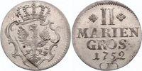 2 Mariengroschen 1752  F Brandenburg-Preußen Friedrich II. 1740-1786. F... 70,00 EUR  zzgl. 5,00 EUR Versand