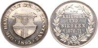 Silbermedaille 1895 Konstanz-Stadt  Winz. Kratzer, vorzüglich  125,00 EUR  zzgl. 5,00 EUR Versand