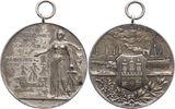 Tragbare Medaille 1909 Hamburg-Stadt  Mattiert. Kl. Fleck, vorzüglich  100,00 EUR  zzgl. 5,00 EUR Versand