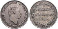 Gedenkmünze zu 4 Schilling 1 1842 Mecklenburg-Schwerin Paul Friedrich 1... 70,00 EUR  zzgl. 5,00 EUR Versand