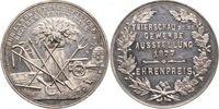 Silbermedaille 1877 Bayern-Haag, Stadt  Etui. Vorzüglich +  75,00 EUR  zzgl. 5,00 EUR Versand