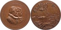 Bronzemedaille 1888 Hamburg-Stadt  Winz. Fleck, fast Stempelglanz  150,00 EUR  zzgl. 5,00 EUR Versand