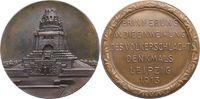 Bronzemedaille 1913 Sachsen-Leipzig, Stadt  Vorzüglich +  145,00 EUR  zzgl. 5,00 EUR Versand