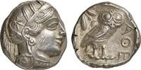 Tetradrachme  GREEK COINS - ATHEN - ATTIKA Vorzüglich  1450,00 EUR  zzgl. 10,00 EUR Versand