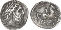 Tetradrachme  GREEK COINS - MAKEDONIEN - PHILIPPOS II Fast vorzüglich  950,00 EUR  zzgl. 8,50 EUR Versand
