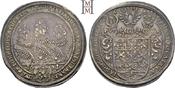 Taler 1631 Brandenburg-Ansbach Friedrich, Albert und Christian 1625-1634. Kl. Zainende, attraktive Tönung, vorzüglich