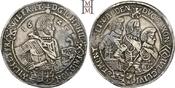 Taler 1625 Sachsen-Altenburg Johann Philipp und seine drei Brüder 1603-1625. Dunkle Tönung, gutes sehr schön