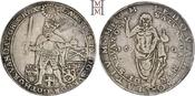 Riksdaler 1610 Schweden Karl IX. (1560-) 1604-1611. Selten, feine Tönung, sehr schön-vorzüglich