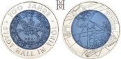 25 Euro 2003 Österreich 2. Republik ab 1945. Handgehoben, in Kapsel, mit Etui und Zertifikat