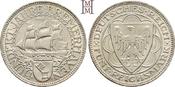 5 Reichsmark 1927  A Weimarer Republik  Feine Tönung, fast Stempelglanz
