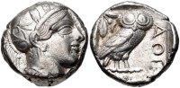 ATTICA, Athens. Circa 454-404 BC. AR Tetradrachm (23mm, 17.19 g, 12h... 1318,78 EUR  zzgl. 13,64 EUR Versand