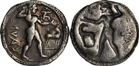 TALY. Bruttium. Caulonia. AR Stater (7.27 gms, 29 mm) ca. 530-500 B.... 1660,71 EUR  zzgl. 13,11 EUR Versand