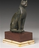 Ancient Egyptian Bronze Figure of a Cat, 21st/26th Dynasty, 1075-525... 12602,32 EUR  zzgl. 13,50 EUR Versand