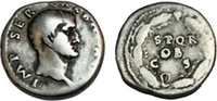 GALBA. 68-69 AD. AR Denarius (19mm, 3.49 gm). Rome mint.   781,68 EUR  zzgl. 11,04 EUR Versand