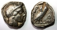     ATTICA, Athens. Circa 454-404 BC. AR Tetradrachm. 400,25 EUR 