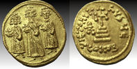Heraclius, with Heraclius Constantine and Heraclonas. 610-641. AV So... 625,62 EUR  zzgl. 10,80 EUR Versand